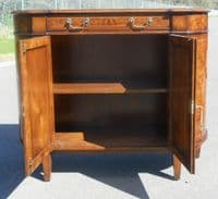 Small Walnut Sideboard by Brights of Nettlebed